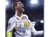 Ps4 FIFA18 disk pak tup playstation 4