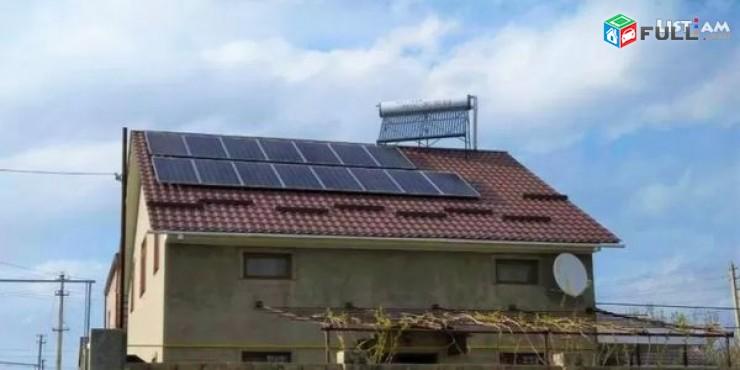 Արևային ջրատաքացուցիչների և արևային էլեկտրակայանի (Ֆոտովոլտային) տեղադրում Գավառի տարածաշրջանում