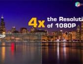 Տեսաերիզներ 4K3D ֆորմատով