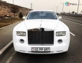 Rolls Royce harsanyac meqenaner harsanekan meqenaner avto vardzuyt rent a car wedding car in Armenia