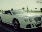 Harsanekan meqenaner harsanyac meqenaner avto vardzuyt bentley cabriolet wedding car in Armenia