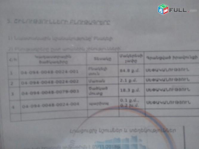 VACHARVUM  E  ARAZNATUN  TAIROV   3 SEN   MAK  168Q