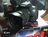 Canon rebel t5i EOS 700d SLR Camera with EF-S 18-55mm f / 3.5-5.6 IS stm Lens