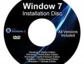 windows 7 disker x32 x64 bit bolor versianere mek diskum