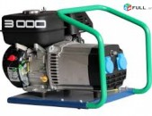 Վարձով БЕНЗИНОВЫЙ ГЕНЕРАТОР QUESTA EK3000 (3 кВт - 220В)