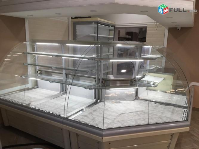 Sarnaran xmorexeni . Холодильное оборудование для кандитерски . Սառնարաններ նախատեսված խանութների համար