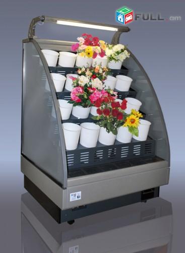 Sarnara vitrina caxiki Холодильное оборудование для цветов Սառնարաններ նախատեսված ծաղիկների