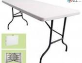 Սեղաններ, ծալվող հարմար սեղաններ, ամուր և որակյալ սեղան, հեշտ բացվող և տեղափոխվող