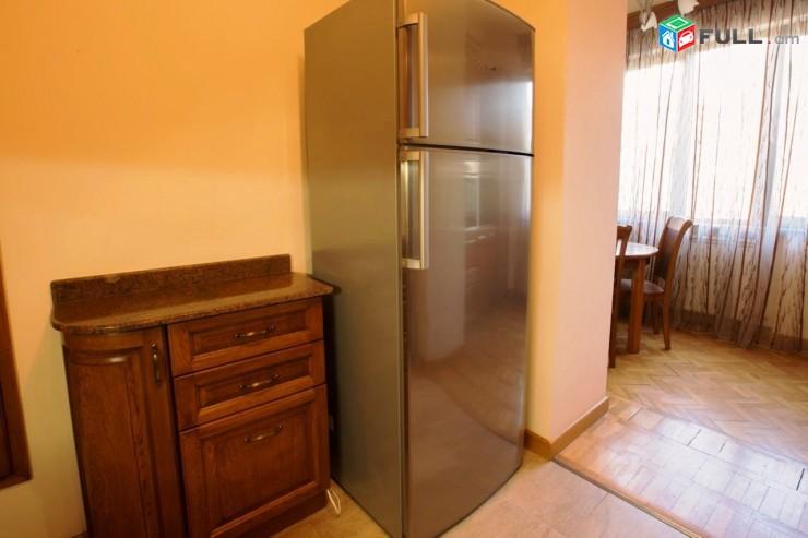Վարձով բնակարան Սայաթ-Նովա պողոտայում, 2 սենյակը ձևափոխած 3-ի, կենտրոն, 3րդ հարկ