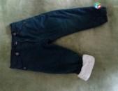 1-2 տարեկան տղայի տաք տաբատ