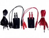 Комплект токоподводов для аппарата ЭЛФОР-ПРОФ электрофорез ELFOR-PROF ELEKTROFOREZ