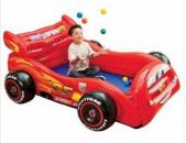 Փչովի մեքենա մանեժ մանկական + գնդակներ