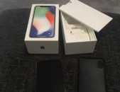 Apple iPhone X - 256GB - Silver (Without unlocked )