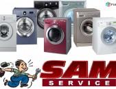 Sam Service գնում է ավտոմատ լվացքի մեքենաներ սարքին և անսարք վիճակում։
