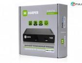DVBT2 tvayin sarq, tv tuner HARPER HDT2-1005 + անվճար առաքում և տեղադրում