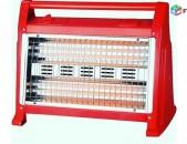 Պլիտա LUXEL 2830 կարմիր LX-2830 + anvchar araqum