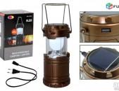 Բացվող լամպ G-85 (արևային մարտկոցով և հոսանքի լիցքավորումով) (fanar, luys) + առա