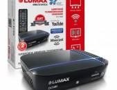 DVB-T2 tvayin sarq Lumax DV1115HD (wifi + meecast) + անվճար առաքում և տեղադրում