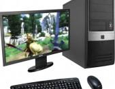 Համակարգիչ I3-540 RAM4GB DDR3 SSD120G + LG monitor 19D
