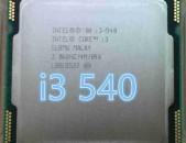 Intel Core I3 CPU 540@3Ghz Processor, CPU socket 1156 + araqum
