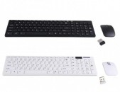 Slim 2.4GHz Wireless Keyboard and Mouse Combo + araqum