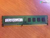 DDR3 ozu Samsung 2Gb 1333MHz 2Rx8 10600U + անվճար առաքում