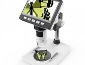 Manraditak, Microscope, Միկրոսկոպ 1000x4,3 дюймов HD 1080P nor e+araqum