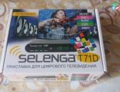 DVBT2 թվային SELENGA T71D (цифровой звук) + անվճար առաքում և տեղադրում