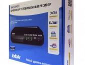 DVB-T2 Թվային BBK SMP022HDT2 + անվճար առաքում և տեղադրում