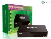 DVBT2 թվային ընդունիչ WORLD VISION T59M + անվճար առաքում և տեղադրում