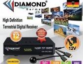 DVBT2 թվային ընդունիչ սարք DIAMOND DM-8822HD + անվճար առաքում և տեղադրում