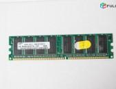 DDR1 256MB (4 HAT) + անվճար առաքում + երաշխիք