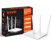 Tenda MODEL F3 Wireless Router 3 antenna + ARAQUM