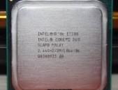 CPU Core 2 Duo E7500 E7400 E7300 E7200 6300