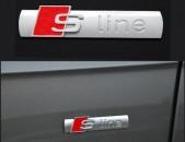 Audi S line bagajniki emblem