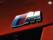 Bmw m emblem bagajniki