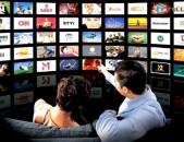 IPTV IP-TV 400 հեռուստաալիքներ մատչելի գնով Հ. Հ. տեղական ալիքների հետ միասին