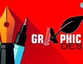 Graphic Design / Adobe illustrator / Corel Draw / Adobe Photoshop