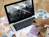 Գրավատունը Տրամադրում է  վարկ նոթբուքների գրավով` ROYAL CREDIT Gravatun