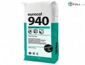 Ծեփամածիկ  Eurocol 940 , Zamaska hataki hamr Eurocol 940, замаска Eurocol 940