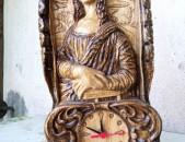 Կաղնե փայտե ժամացույց