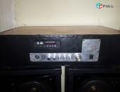 Usilitel stereo 120 wat  bazmafunkcional