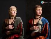 Նկարների RAW կոնվերտացիա ֆոտո մշակում обработка фото photoshop capture one