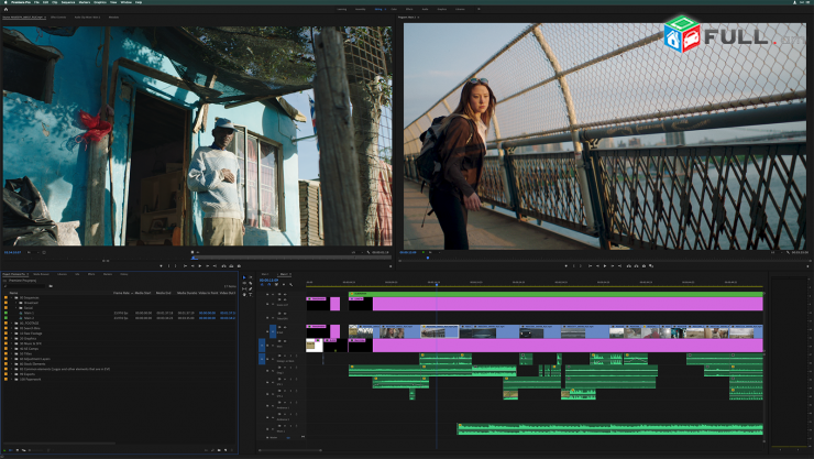 Photoshop, capture one, adobe premiere, after effects և այն