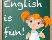 Անգլերենի և հայերենի դասընթացներ դպրոցահասակ երեխաների հետ