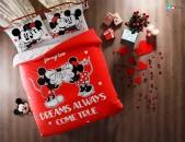 Մանկական երկտեղանի հավաքածու - Disney Minnie & Mickey Dreams