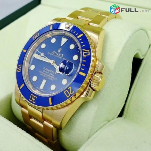 Rolex Submariner կապույտ գեղեցիկ ժամացույց