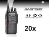 20 hat - Racia Baofeng BF-888s radiokap tupov (NOR) - zexchvac gin
