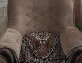 Խոլ/ Բազմոց բացովի + իր երկու բազկաթոռները