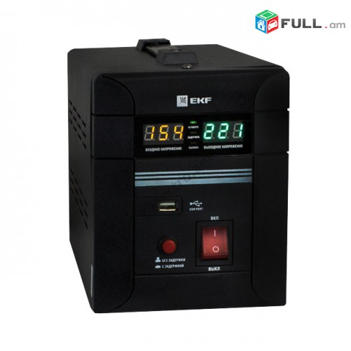 Напольный стабилизатор напряжения - 2 кВт EKF PROxima